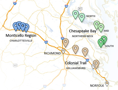 Wine Trip Transportation in Virginia