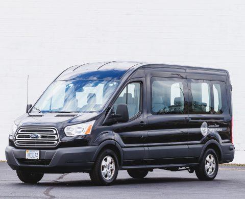 Airport Shuttle Sprinter Van