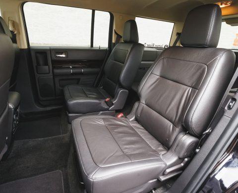 Airport Shuttle SUV interior