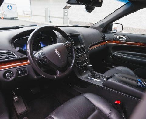 Private Sedan Rental Interior