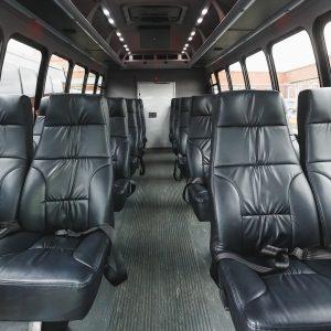 Minibus Charter Interior